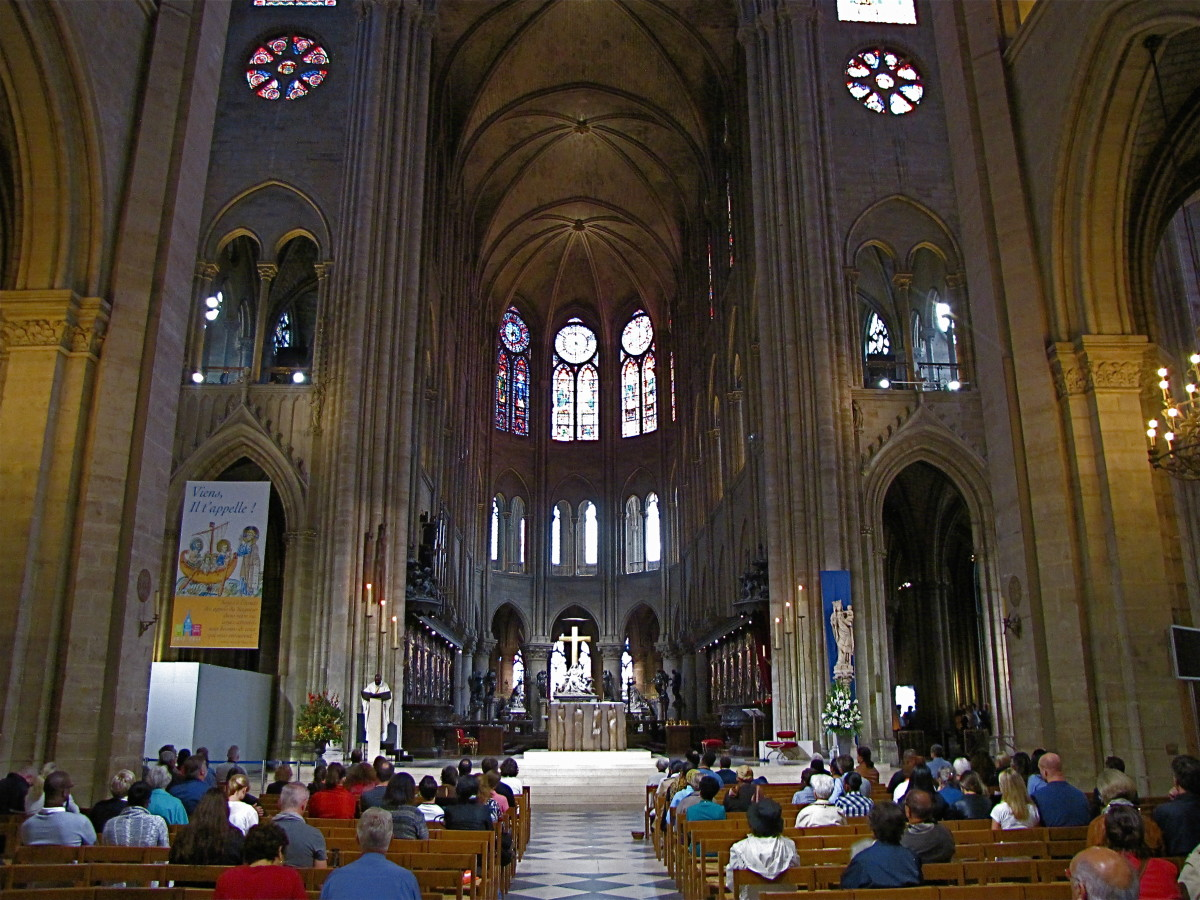 Interior of Notre Dame