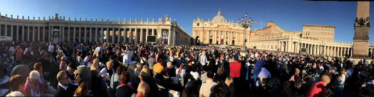 Mass with Pope Francis at St. Peter's Square