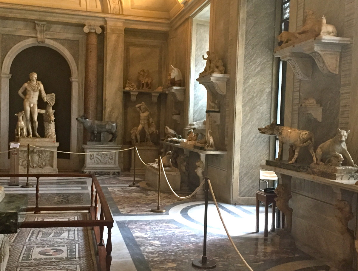 Hall of Animals (Pio-Clementino Museum)