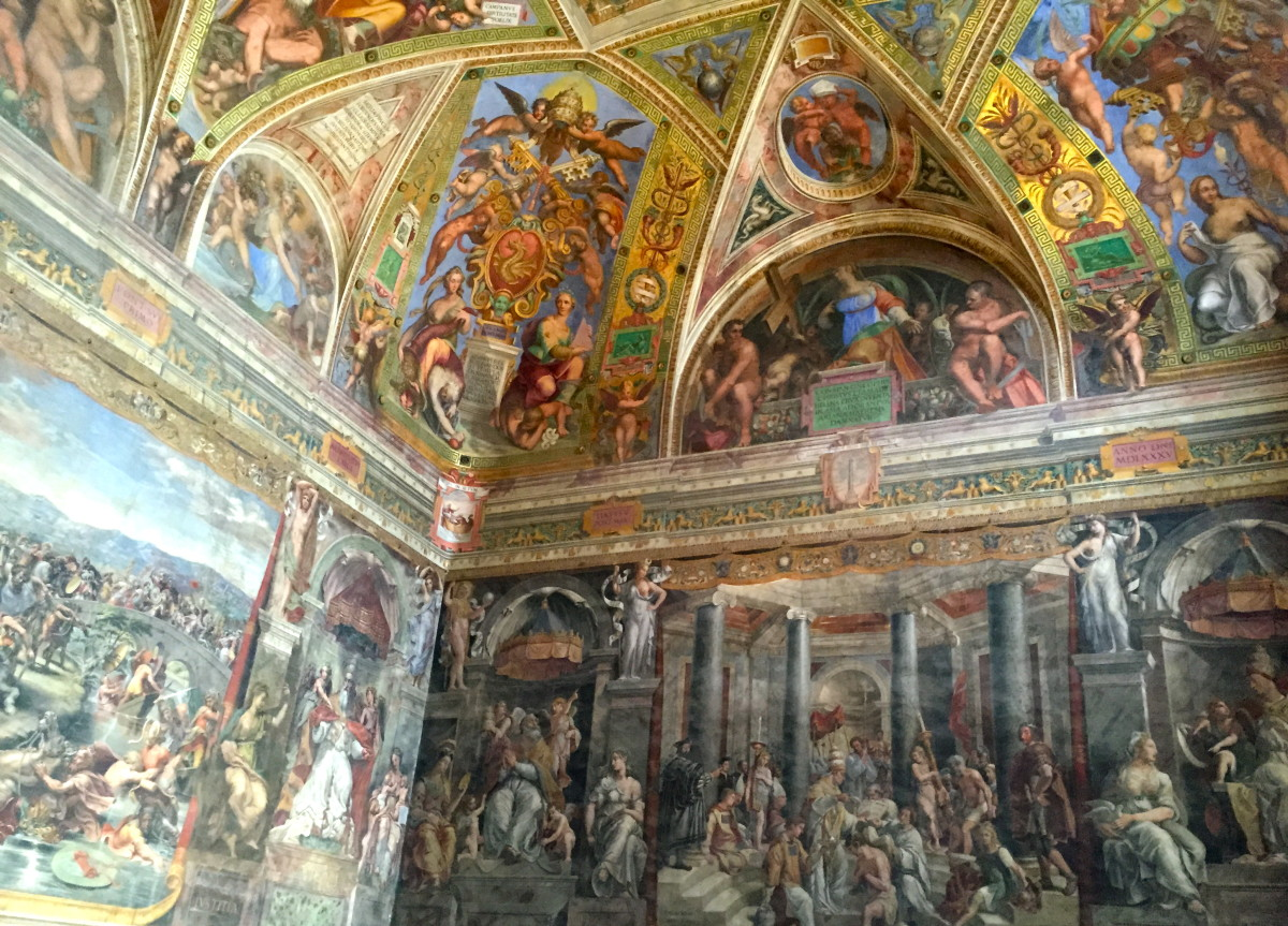 Raphael Rooms, Room of Constantine