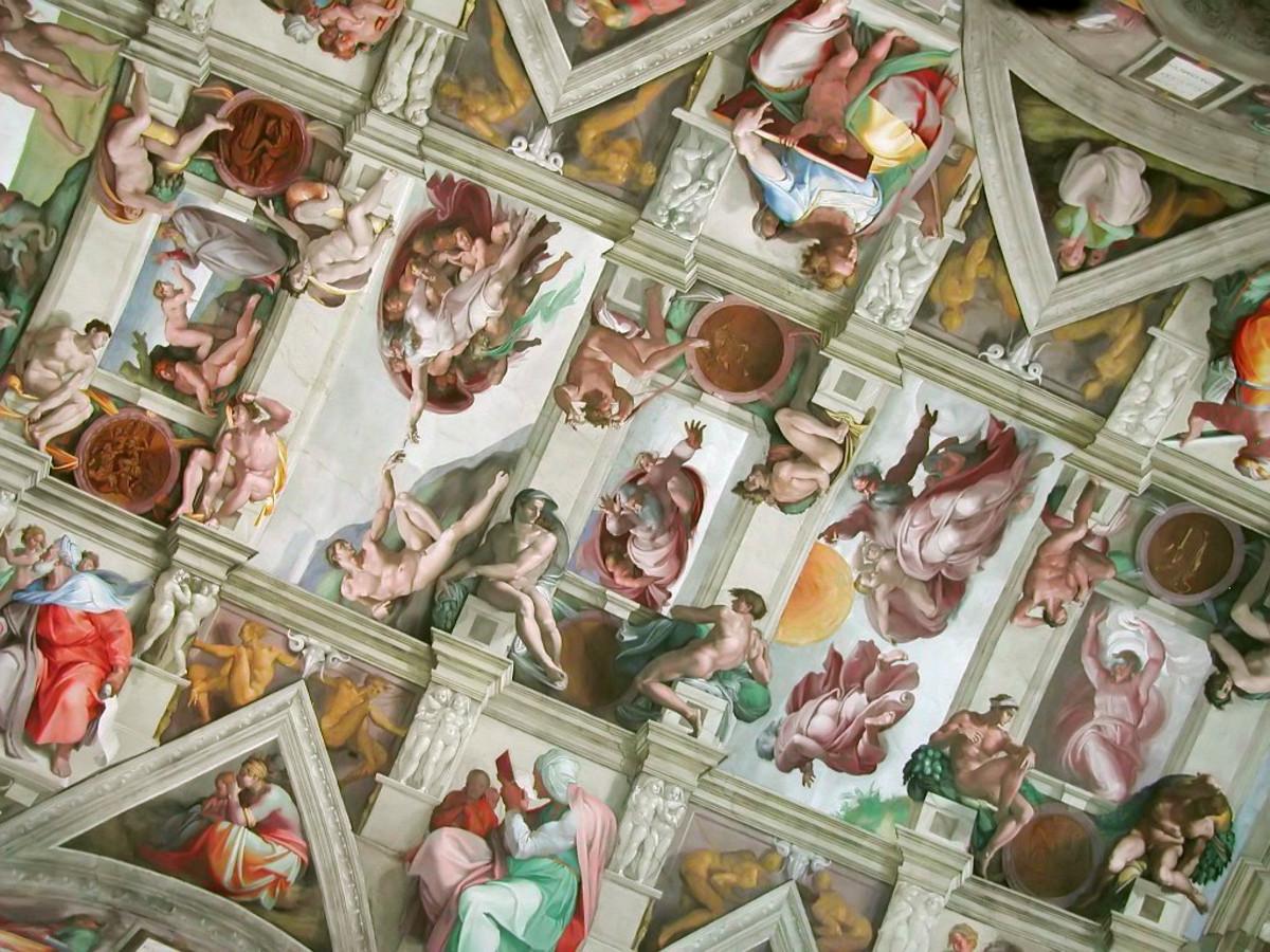 Michelangelo, Sistine Chapel ceiling