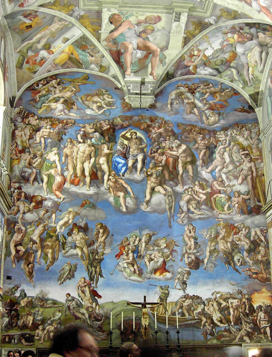 Michelangelo, The Last Judgement