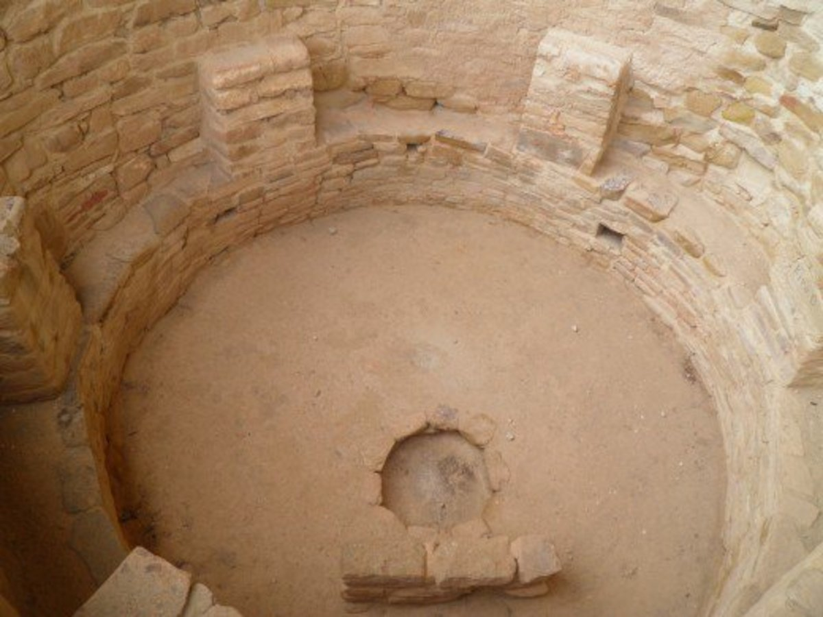 A Kiva in Cliff Palace