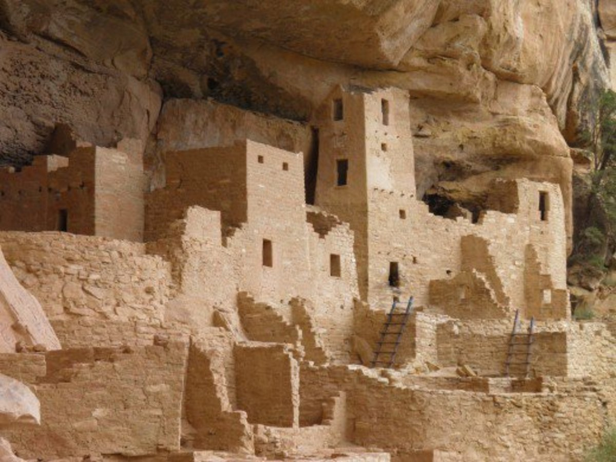 Inside Cliff Palace