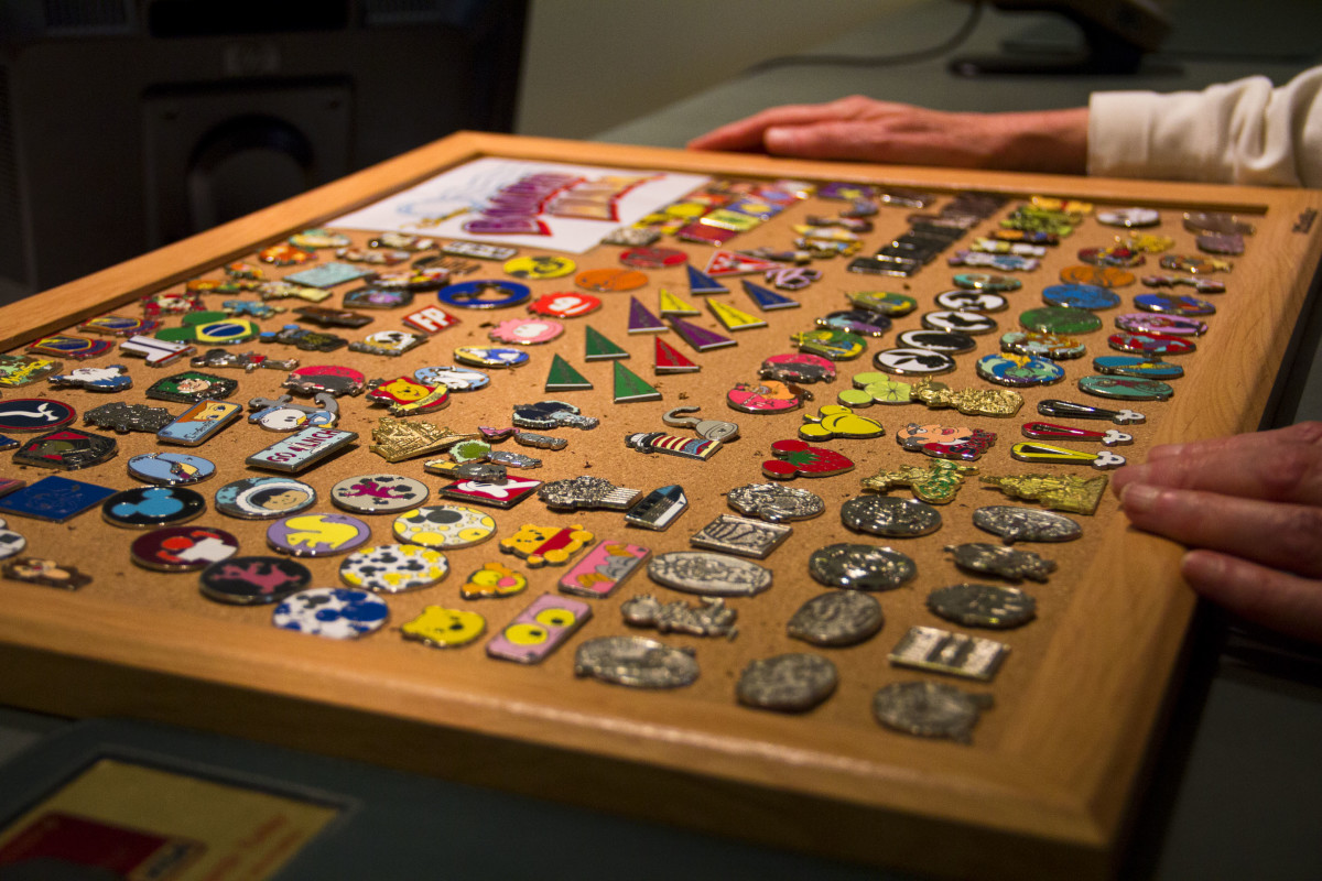 Not all pin boards are so nicely organized. It's a scavenger hunt to find the ones that you think are cool.