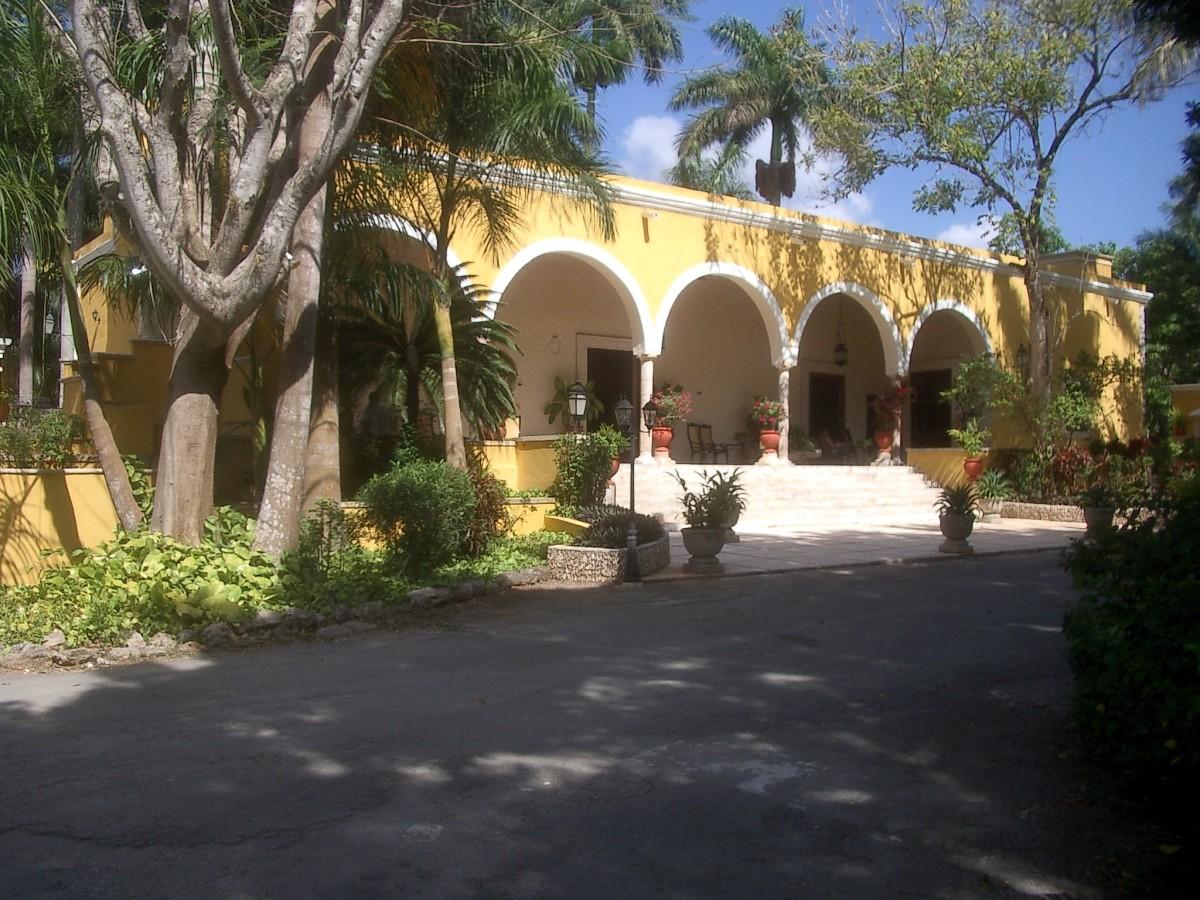 The Hacienda Chichen.  Chichen Itza, Quintana Roo
