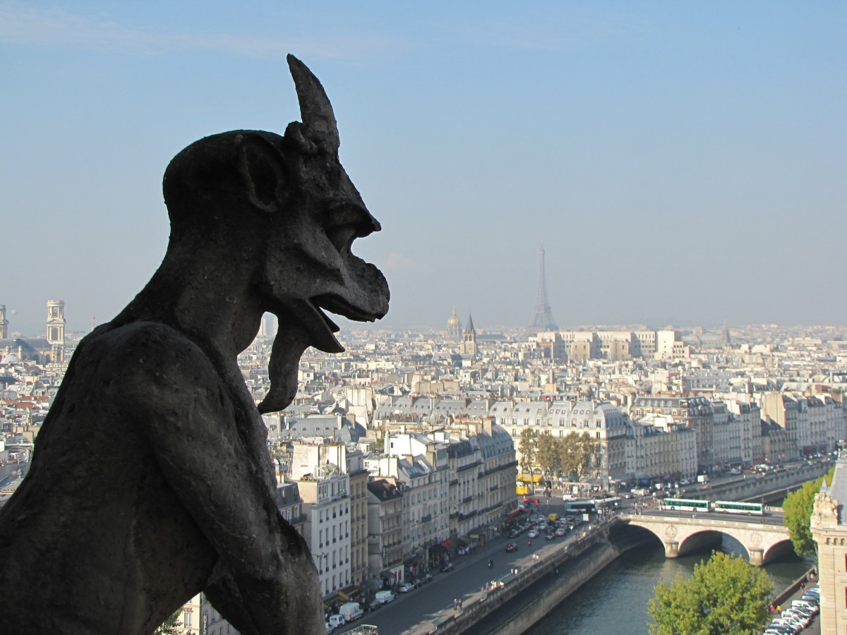 Chimera atop Notre Dame