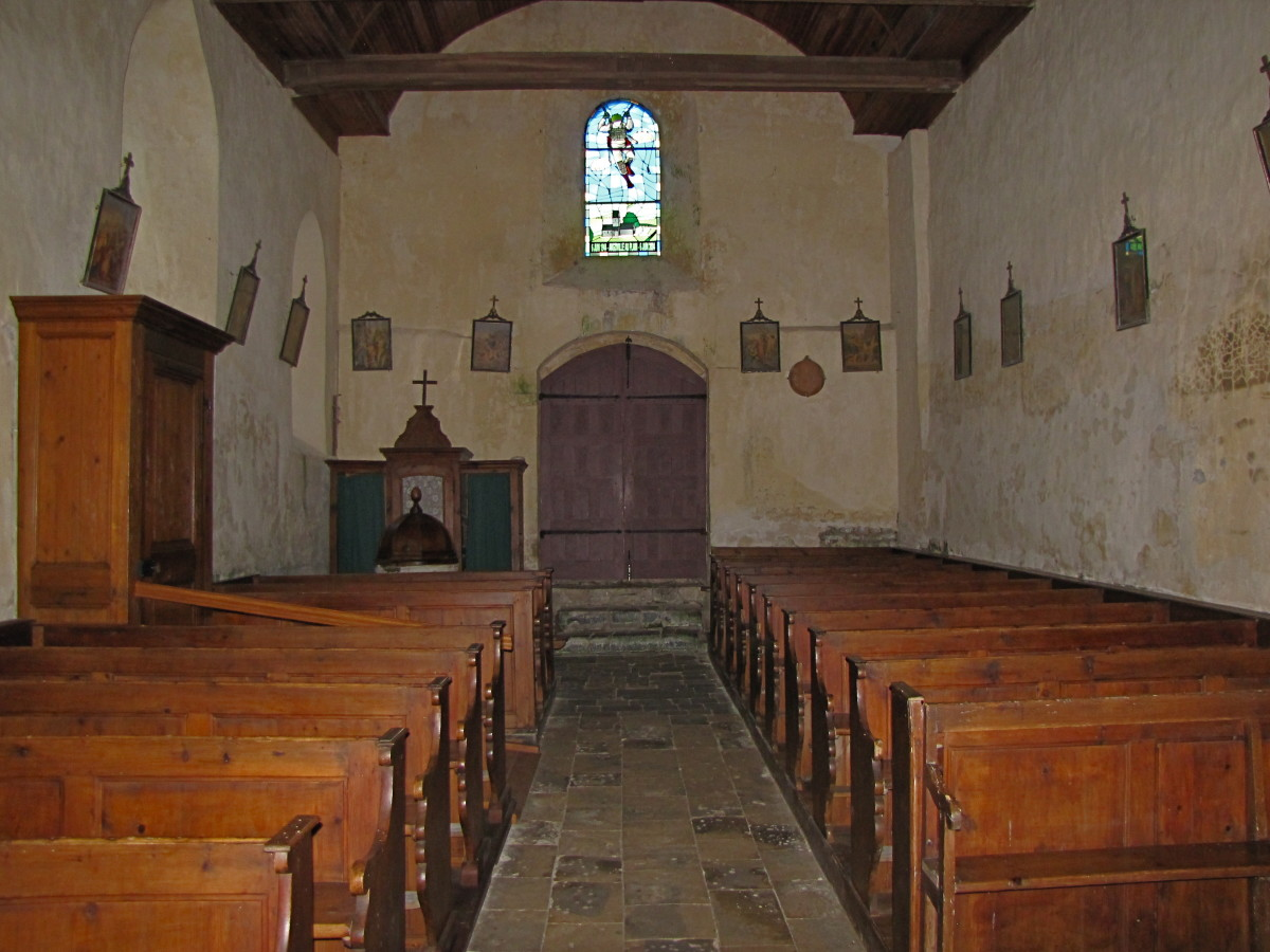 The church of Angoville-au-Plain.