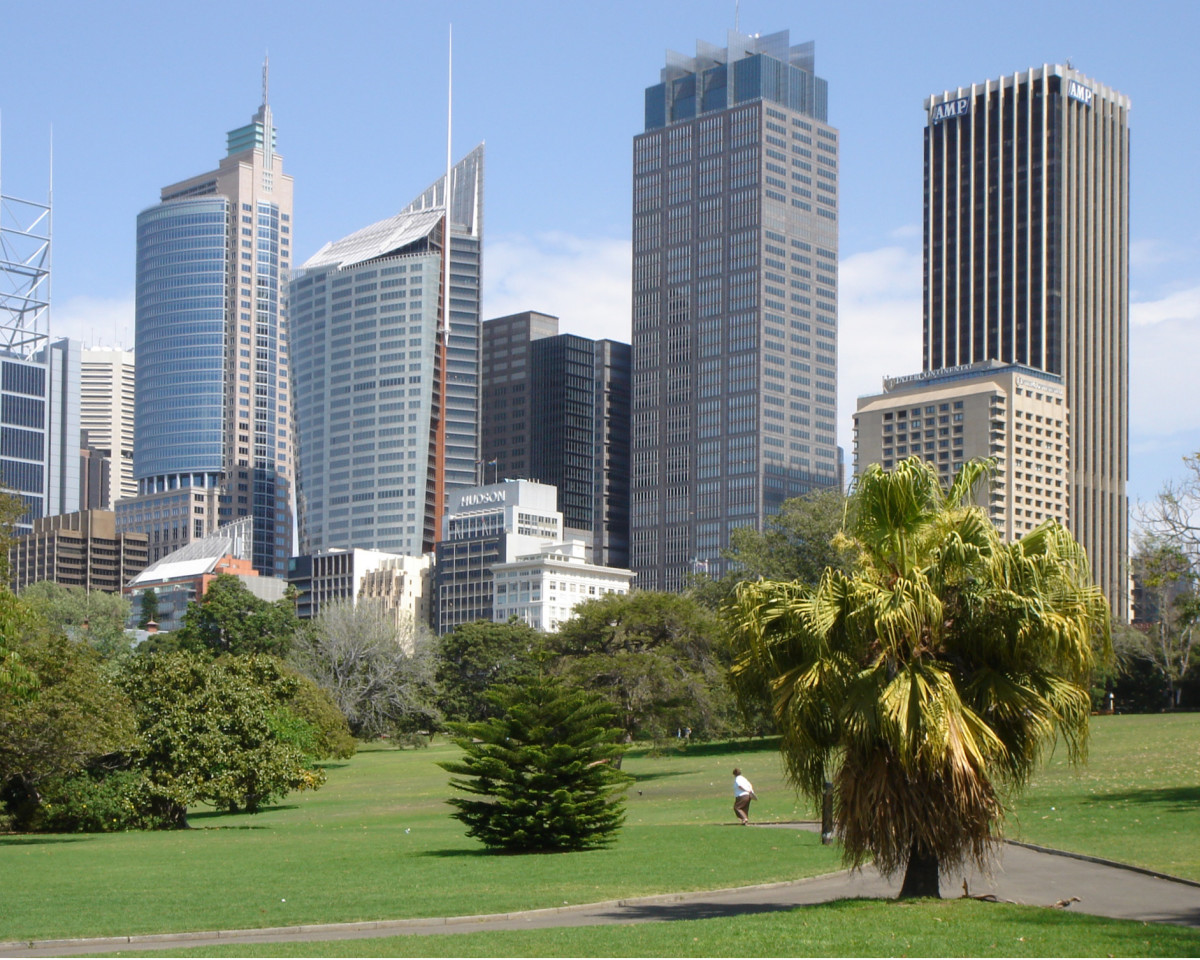 An oasis in the midst of a concrete jungle - the Royal Botanic Garden