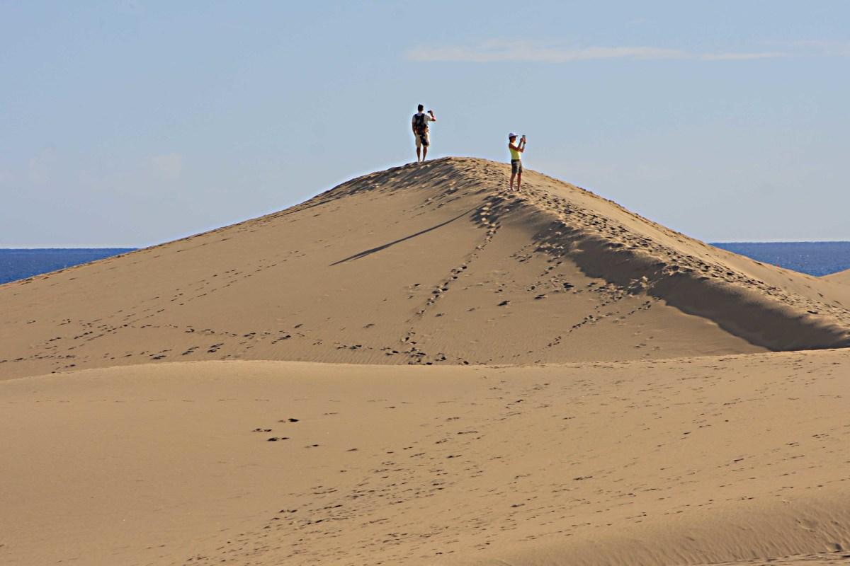 Wandering in the dunes