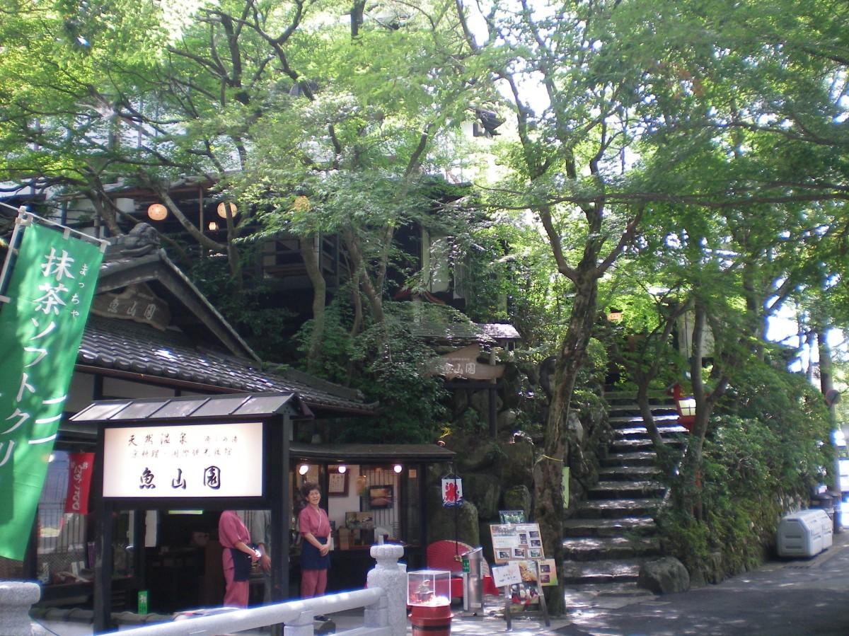 The path to Sanzenin Temple, Ohara (c) A.Harrison