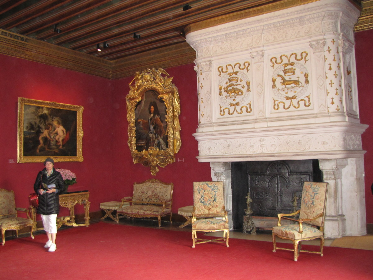 King Louis XIV Drawing Room