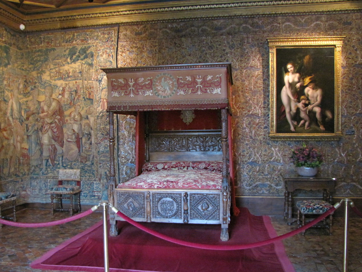 Catherine de' Medici's Bedroom