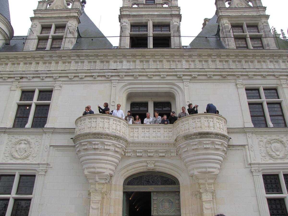 The 1st Floor Balcony