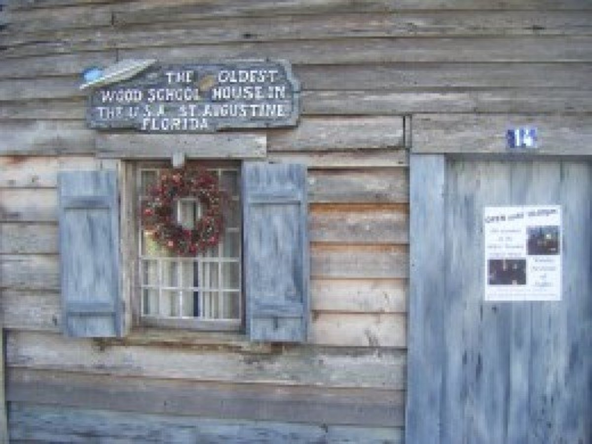 The Oldest Wooden Schoolhouse is an original colonial home that was transformed into a school.  Dating from the 1700s, this preserved structure now serves to inform and entertain modern day visitors, regarding how the school worked in the past.