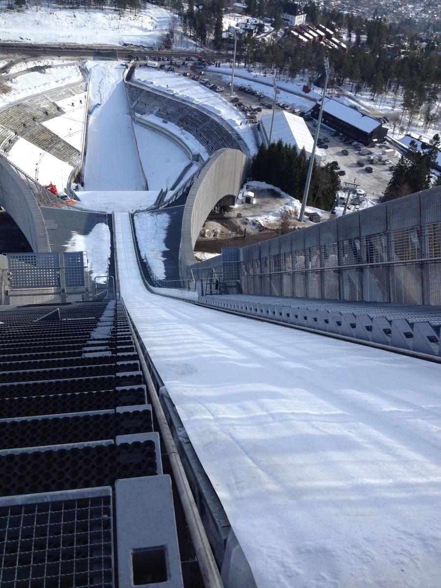Ski jump at Holmenkollen