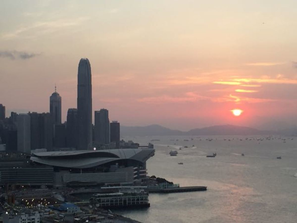 The end of a day exploring Hong Kong (c) A. Harrison