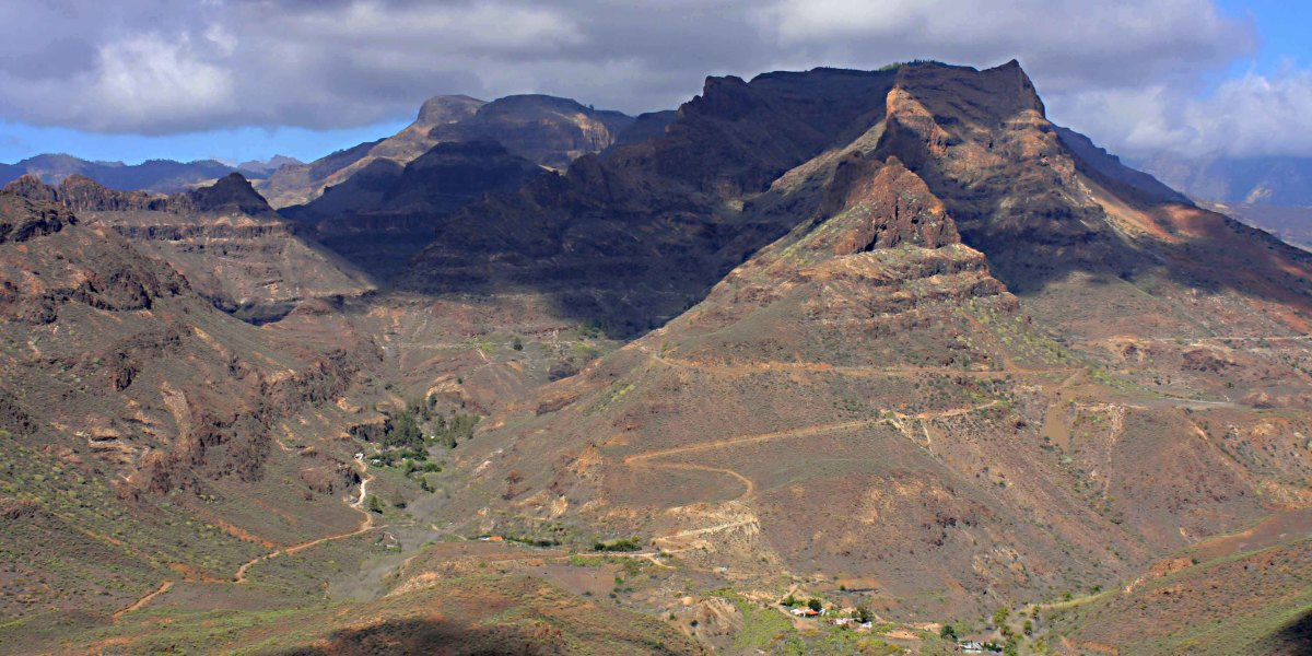 Panoramic vistas are the norm in the Gran Canaria mountains