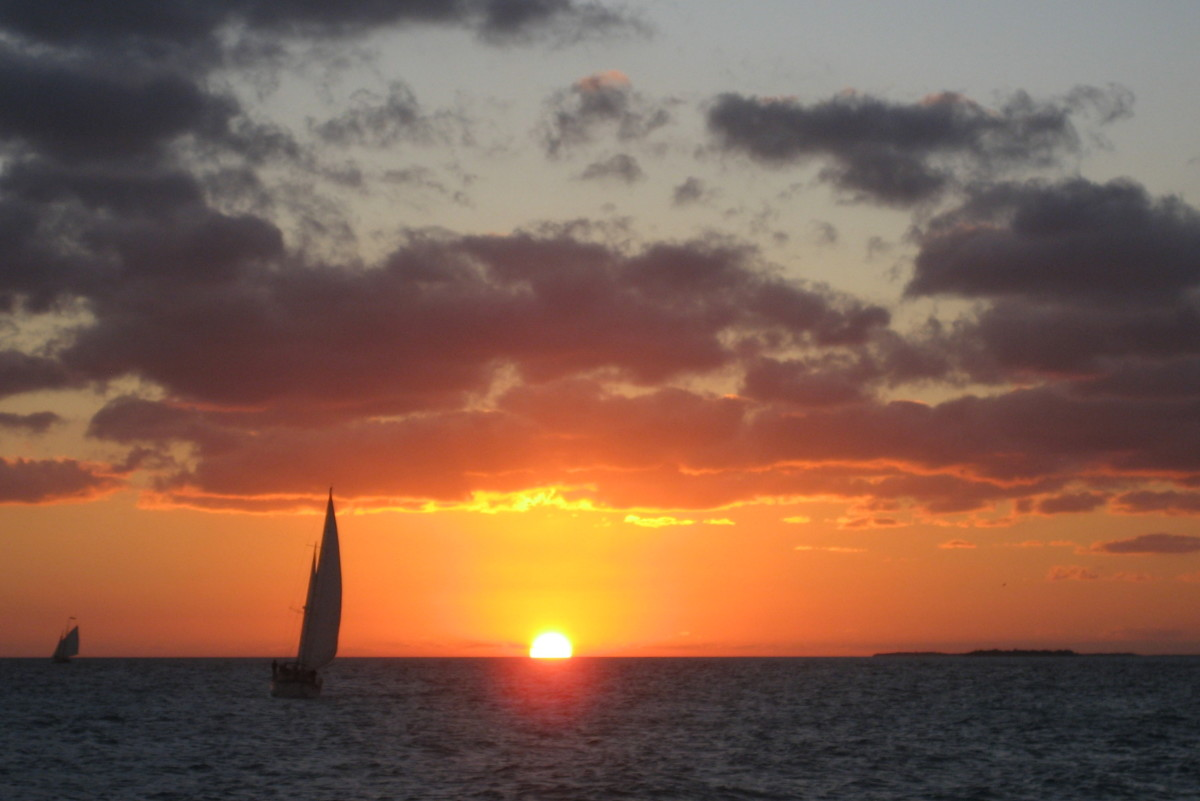 A Key West sunset sail