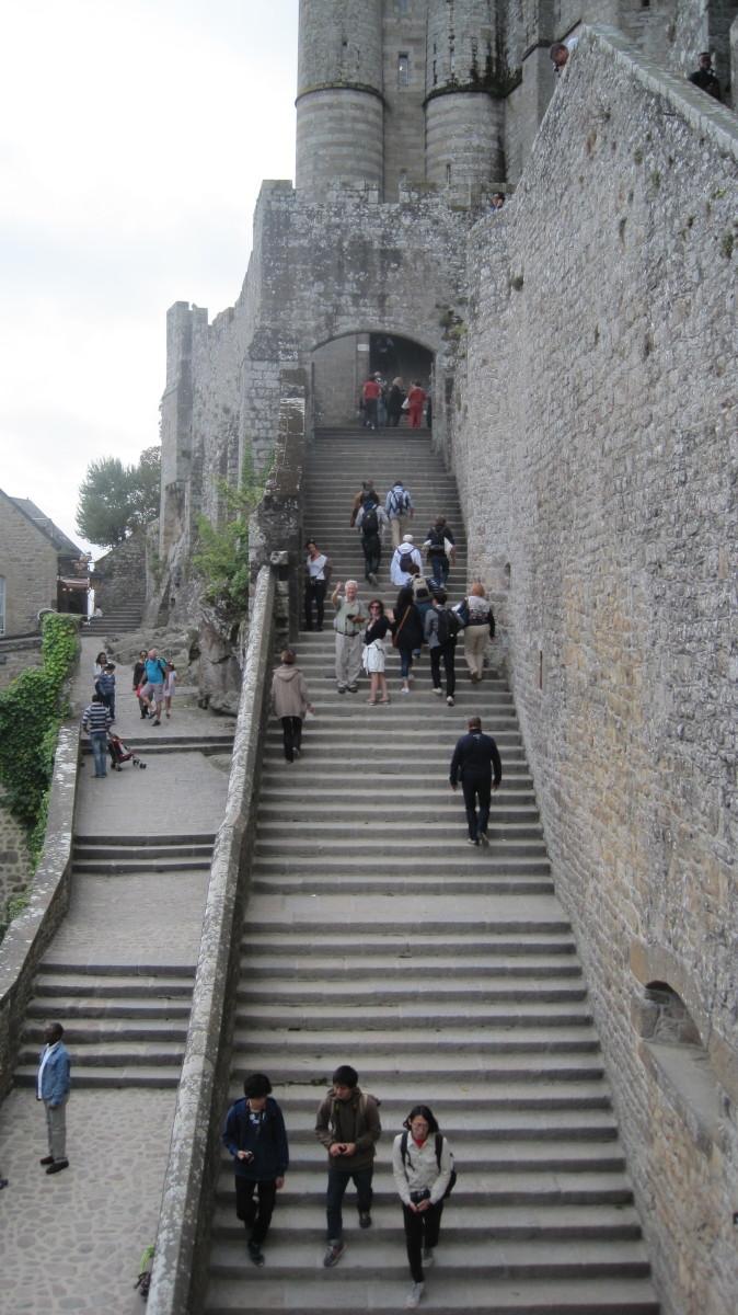 The Grande Degre - Grand Staircase