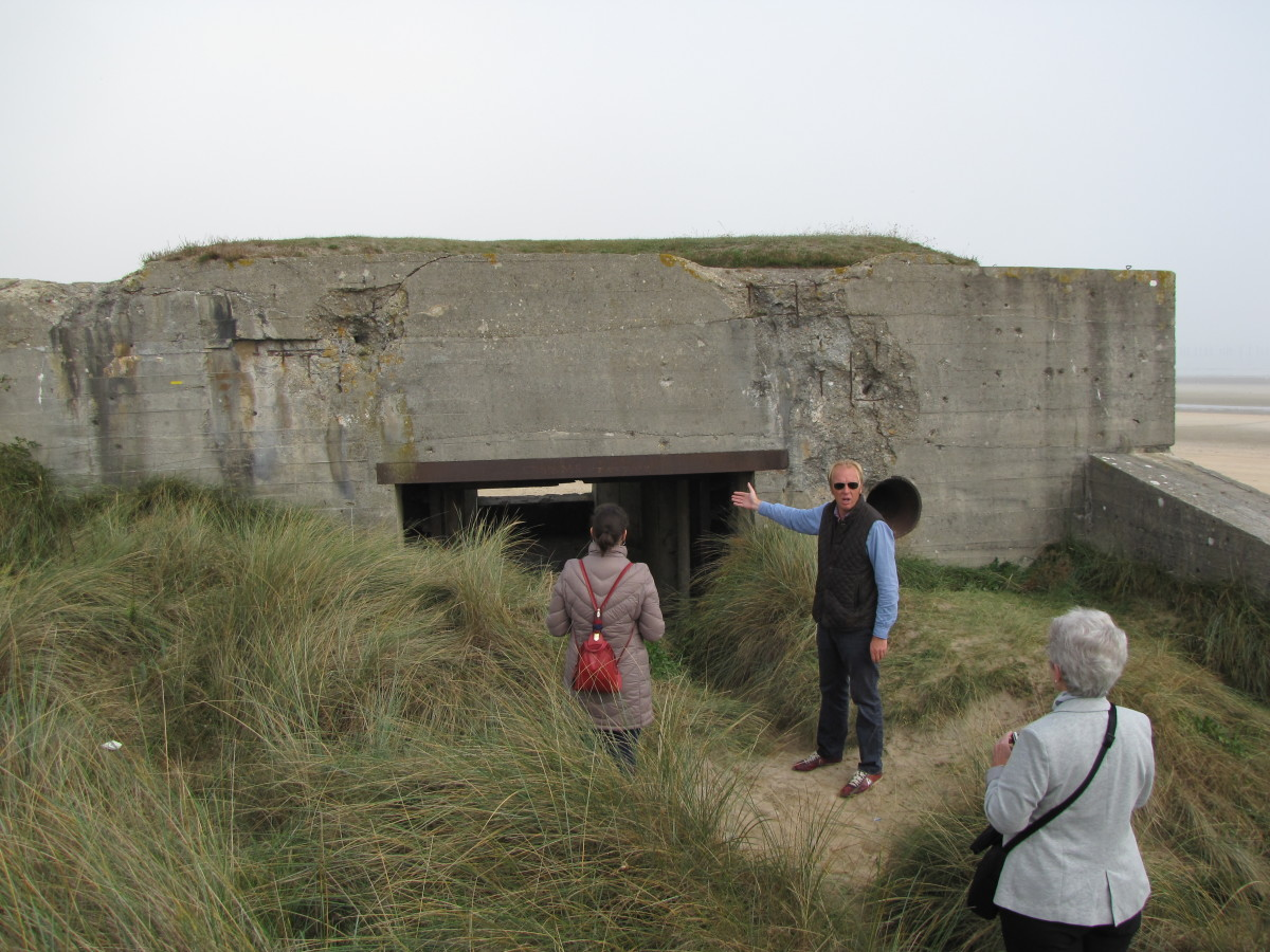 German Bunker at Utah Beach