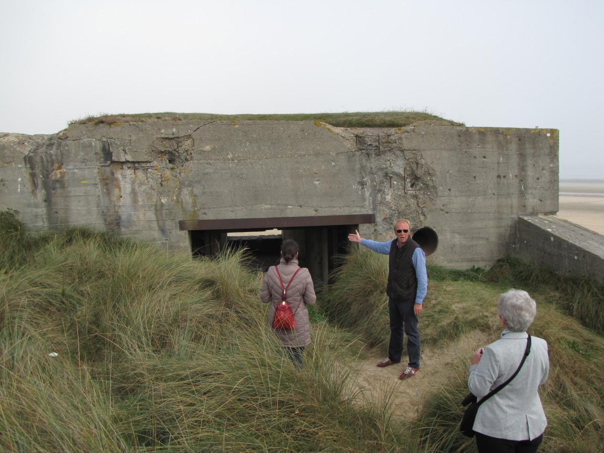 German Bunker at Utah Beach