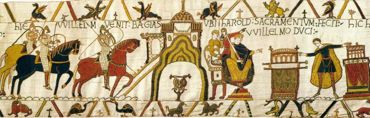 Scene from the Bayeux Tapestry