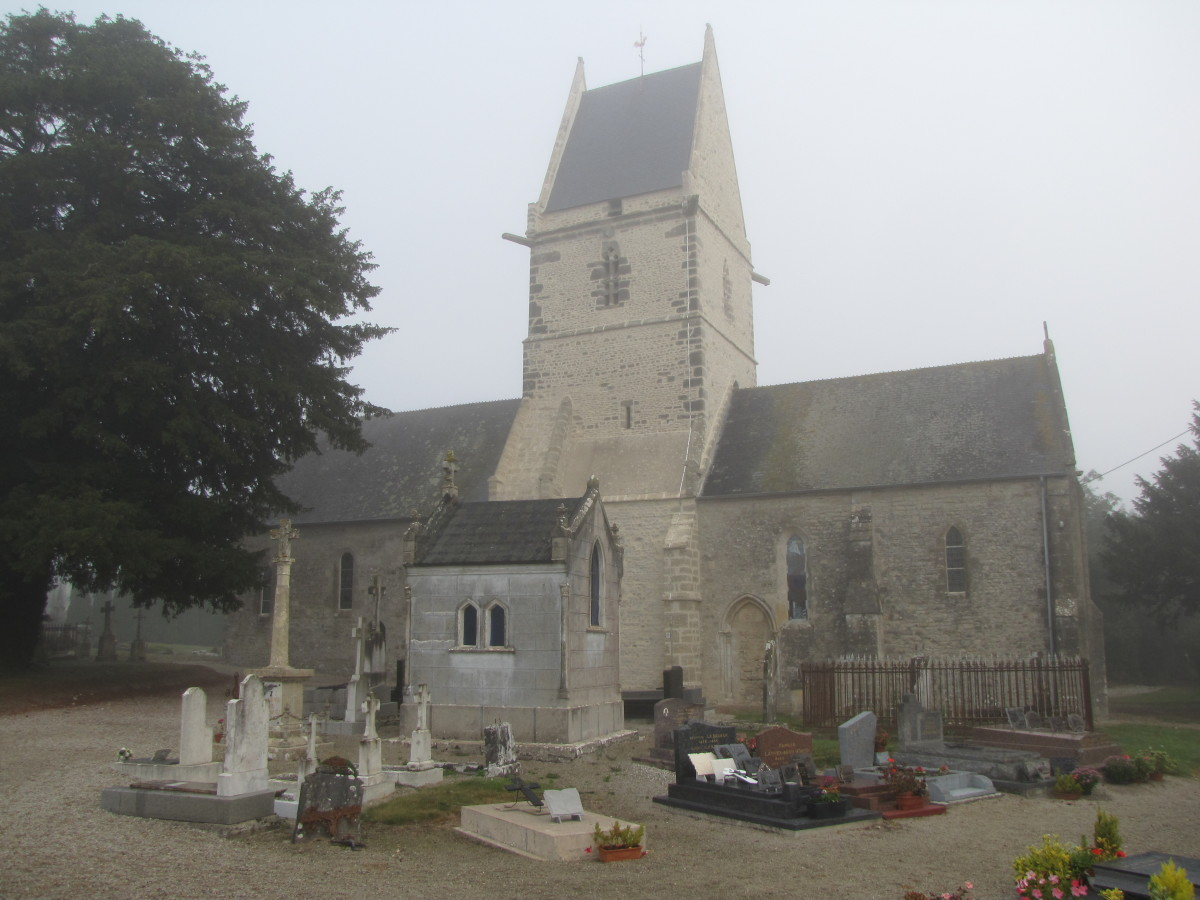The church in Angoville-au-Plain