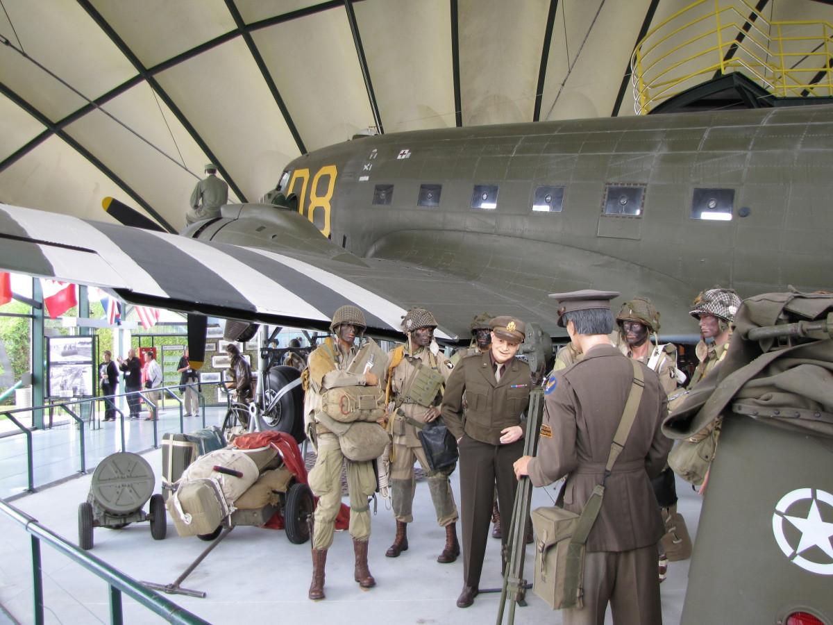 The Airborne Museum in Sainte-Mere-Eglise