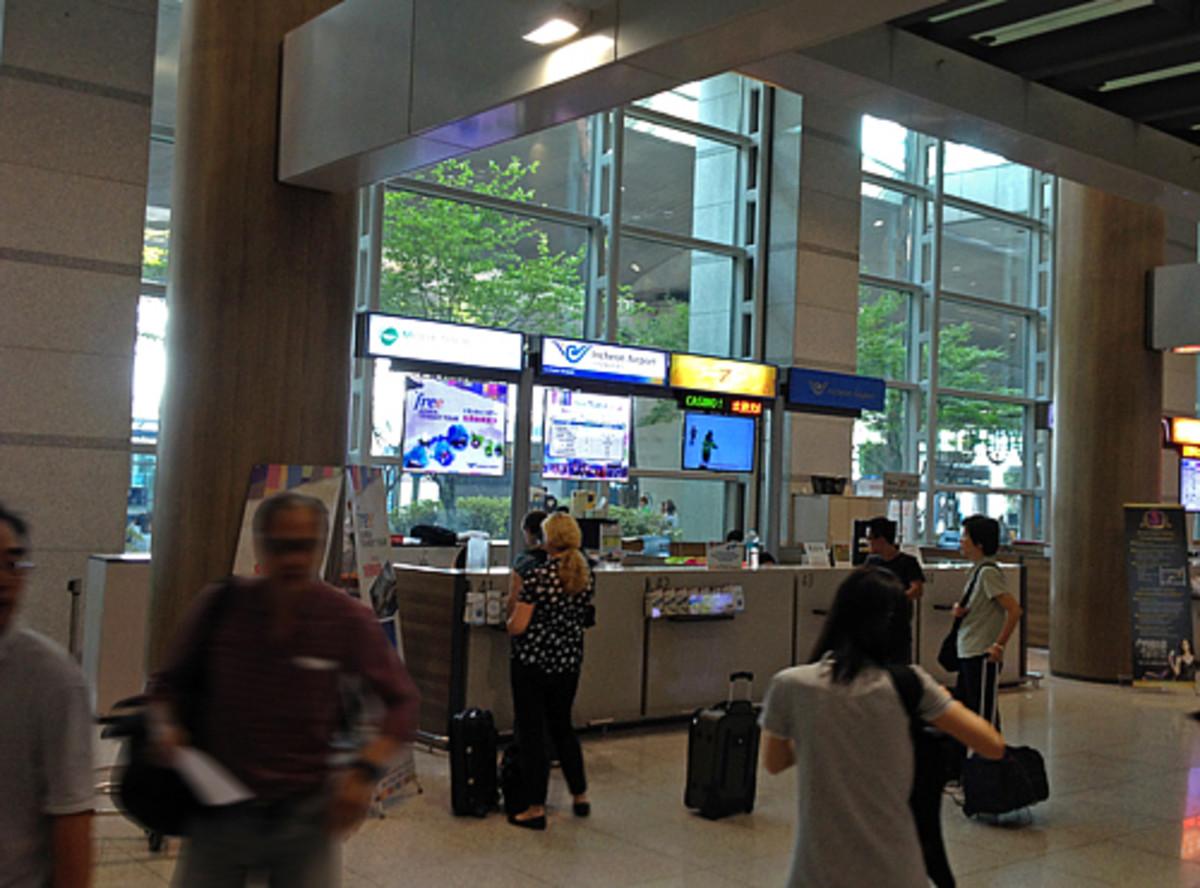 Transit Tour Desk at Incheon International Airport
