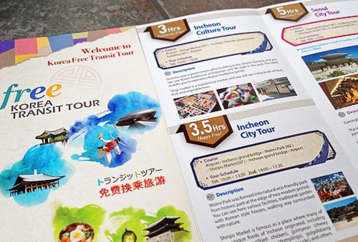 Transit Tour brochure