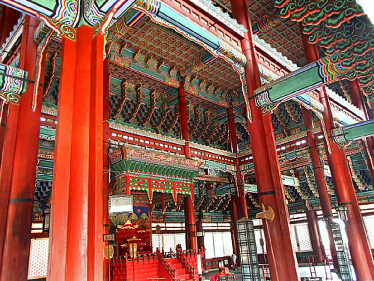 Throne Hall at Gyeongbokgung Palace