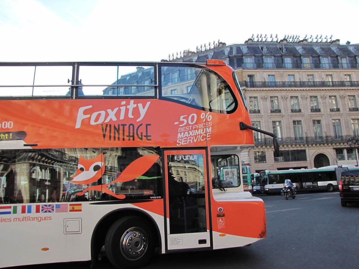 Foxity Tour Bus