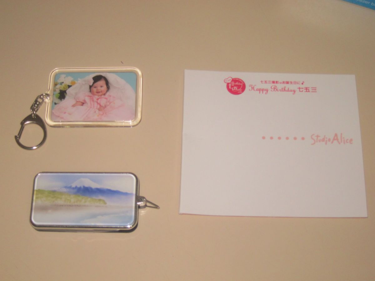 Studio Alice Photo CD and Key Fobs