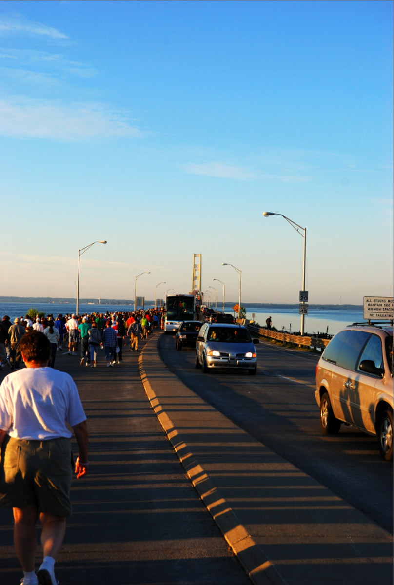 Mackinac Bridge Walk