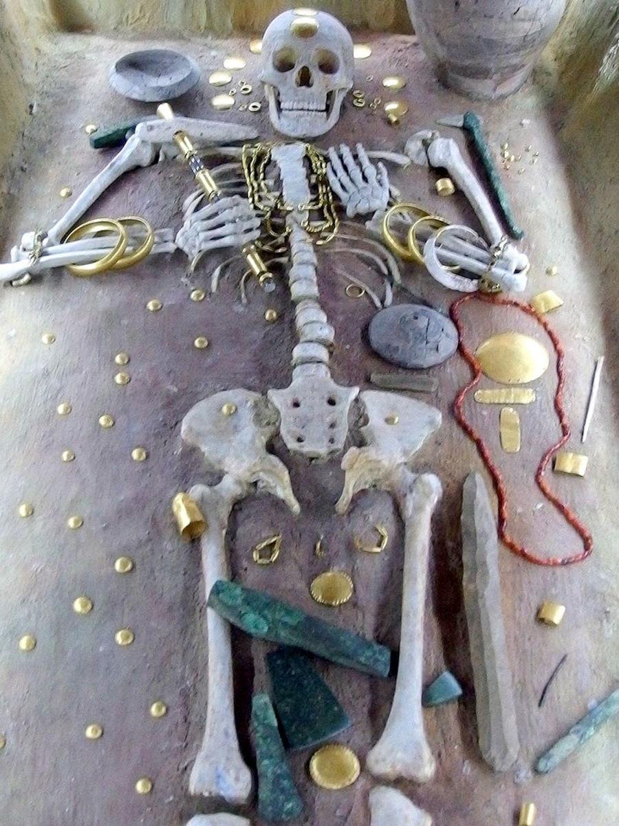 Varna burial treasure