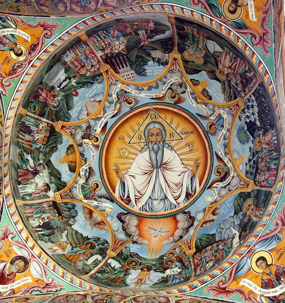 Rila Monastery Interior