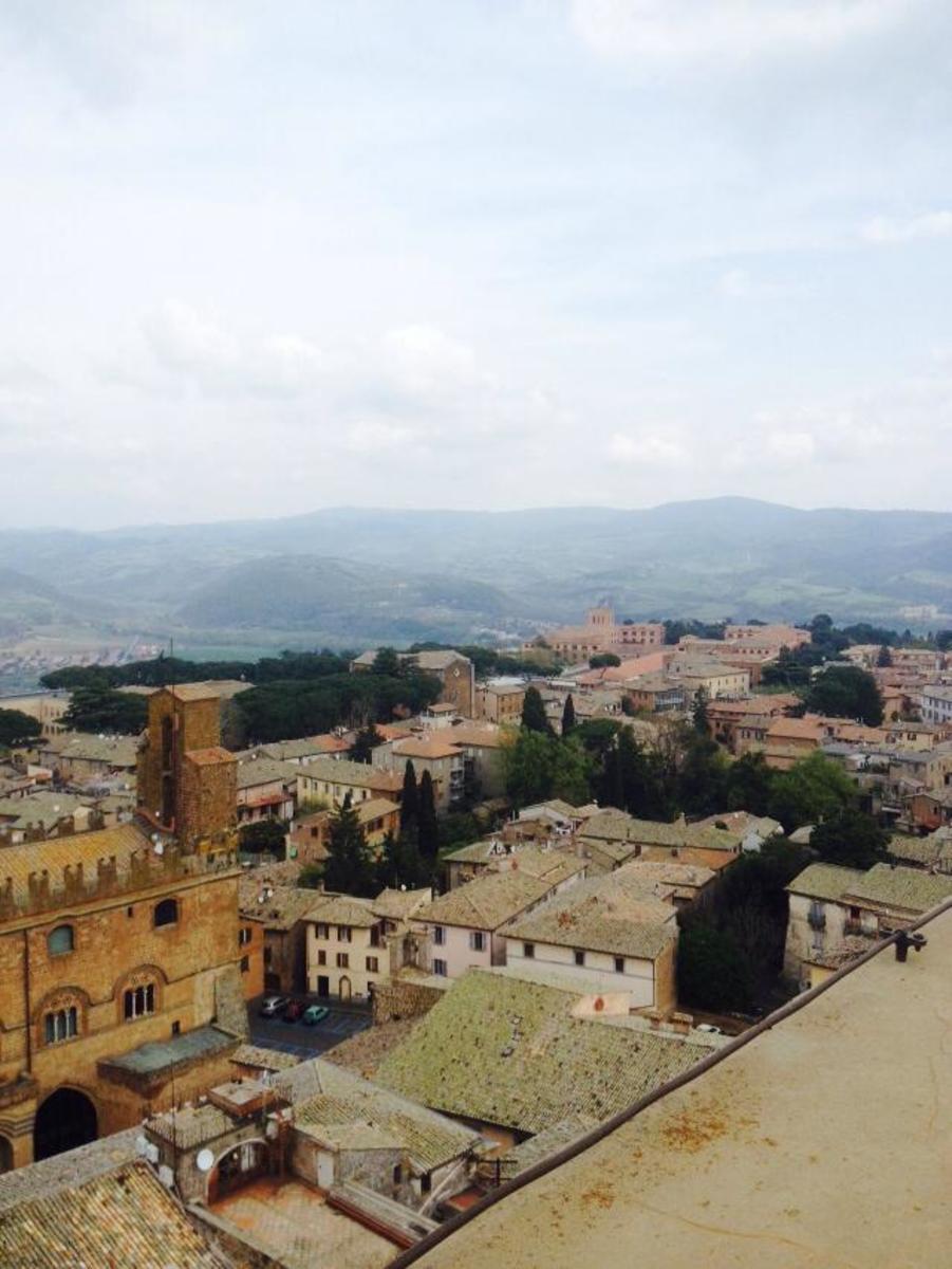The city of Orvieto, Italy