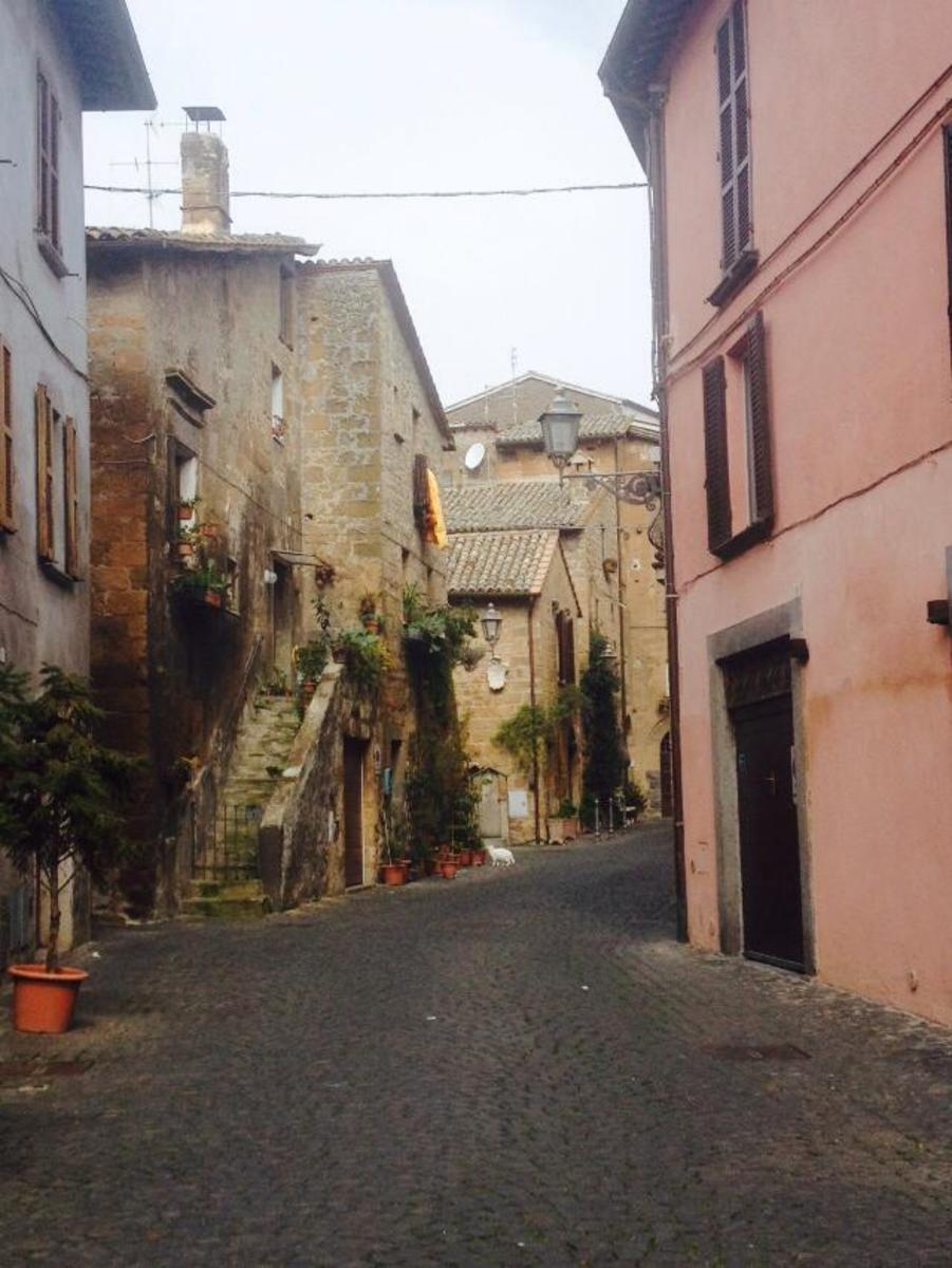 These beautiful city streets are just a day trip from Rome.