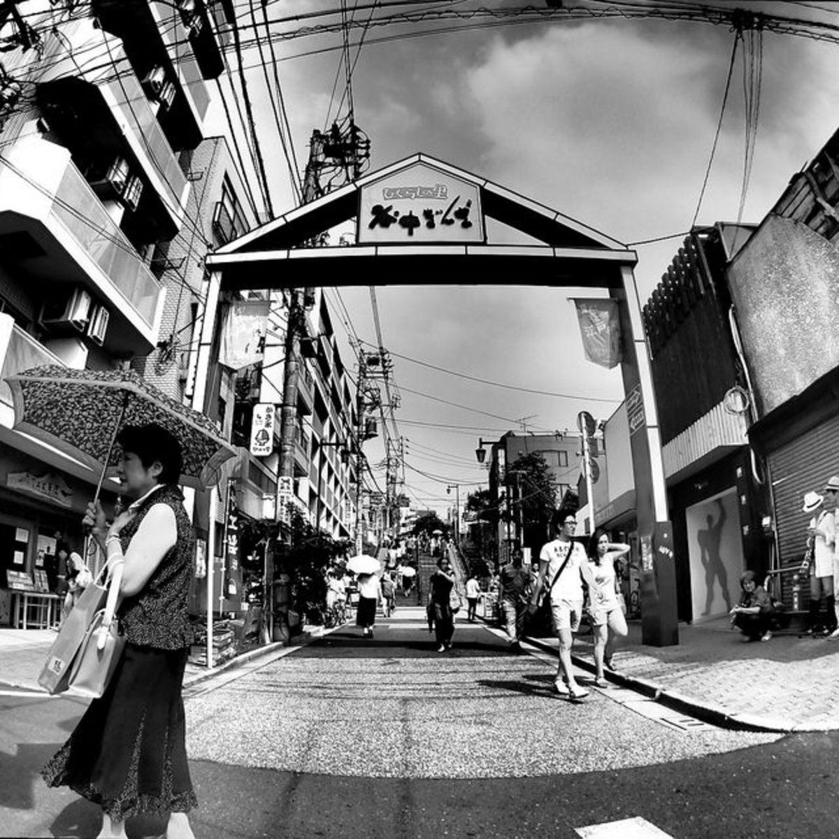Tokyo's Yanesen Neighborhood