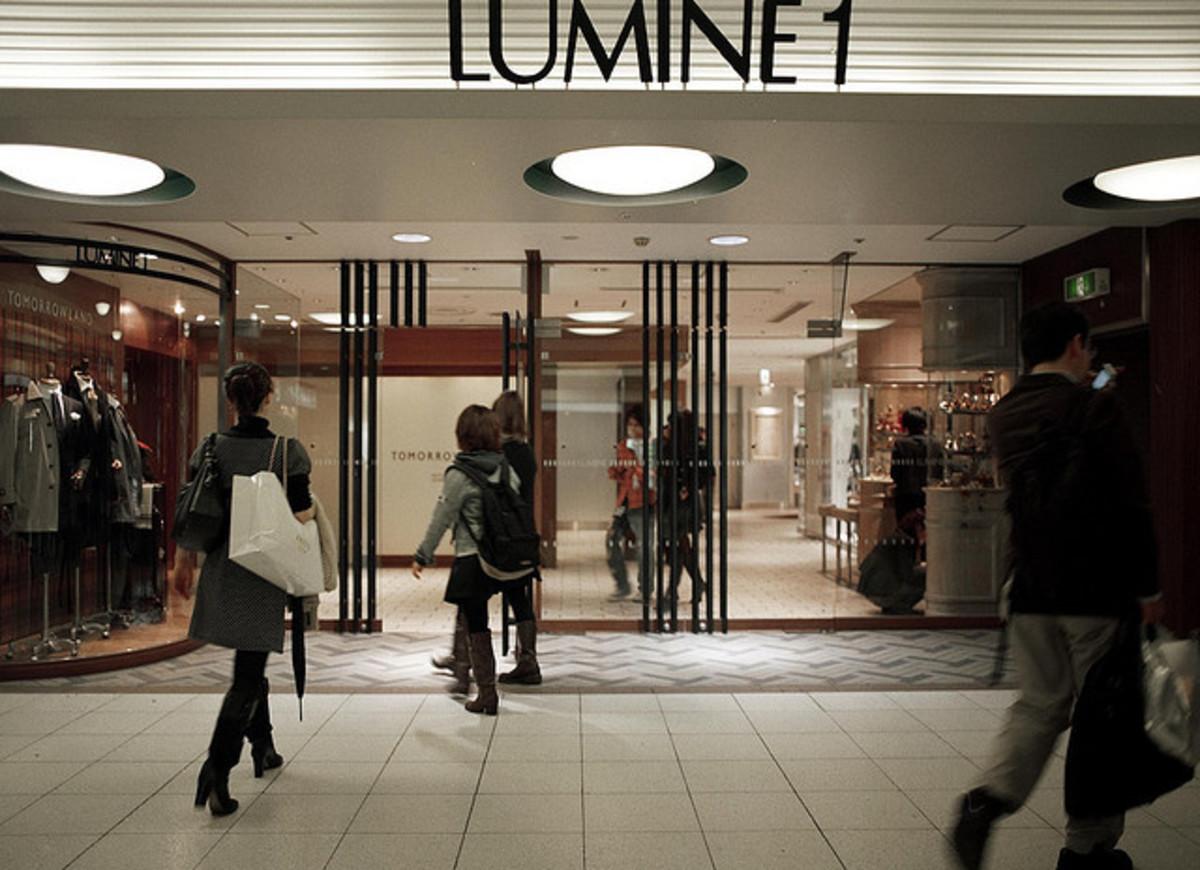 Lumine Department Store in Tokyo