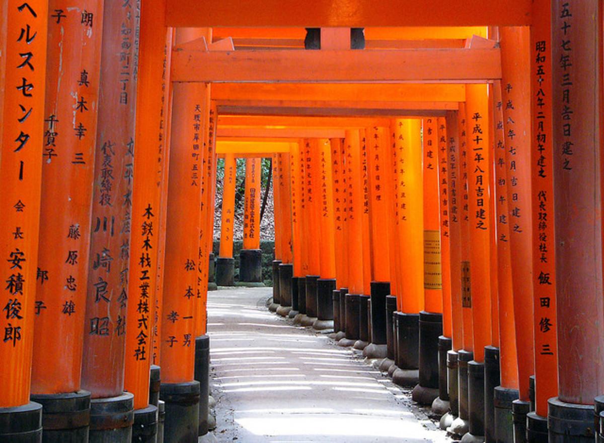 Tokyo's Sannou Inari Shrine