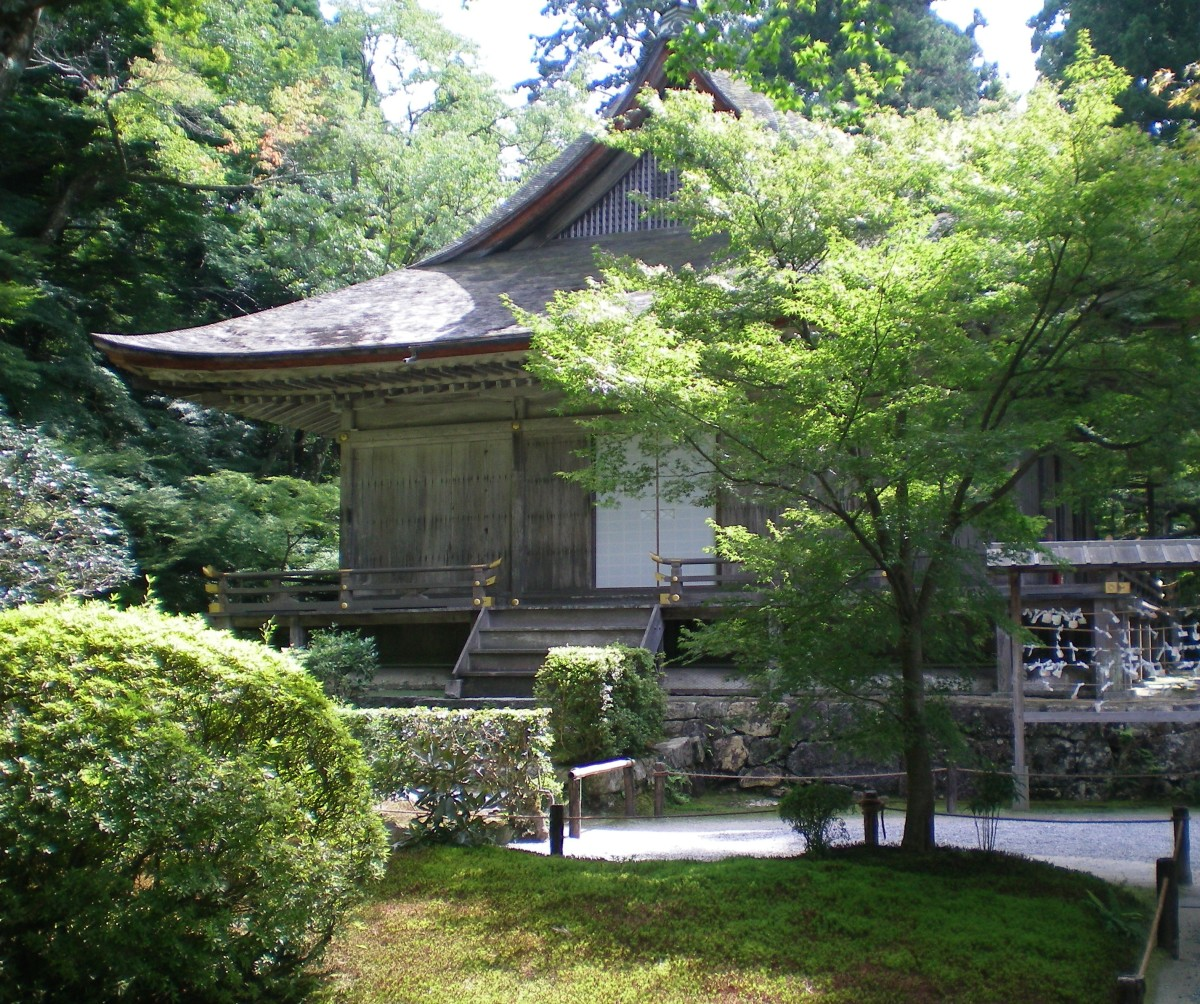 ANother temple complex, Koyasan (c) A. Harrison