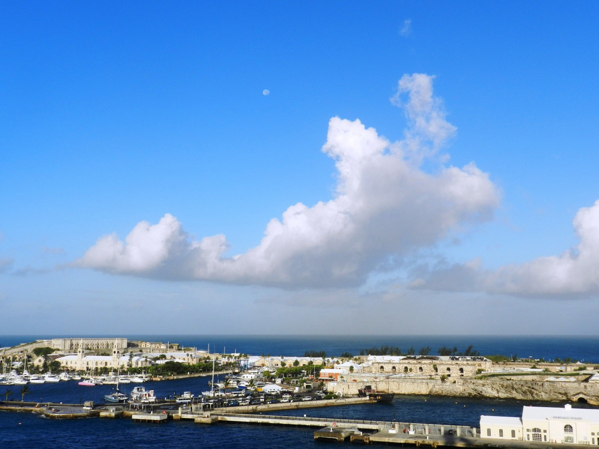 Dockyard, Bermuda. This is why we cruise.