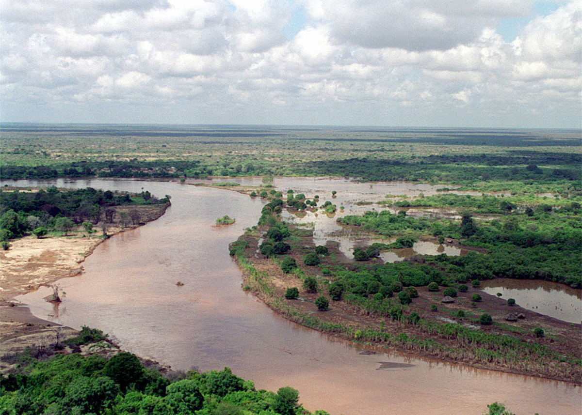 A Section of the Tana River