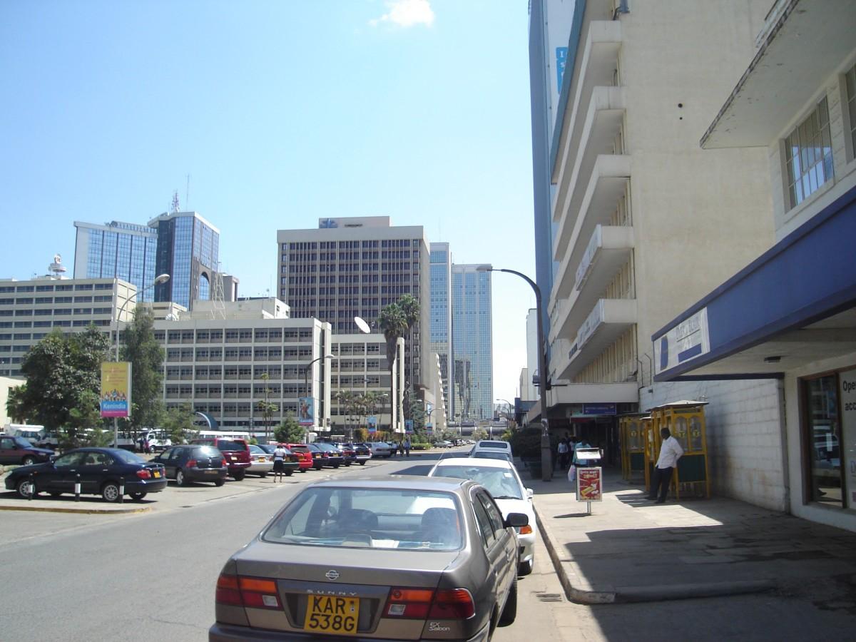 A Street in Nairobi