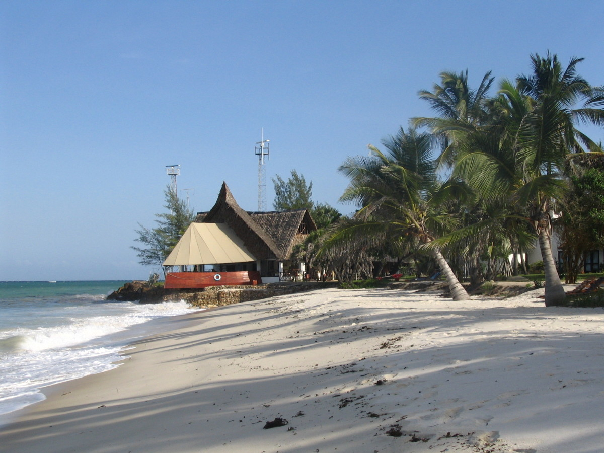 A Beach in the Kenyan Coast