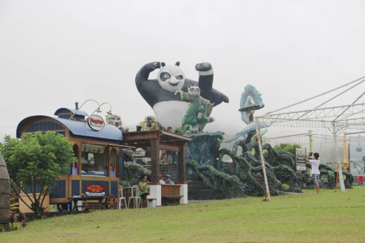 Kung Fu Panda in Campuestohan Highland Resort