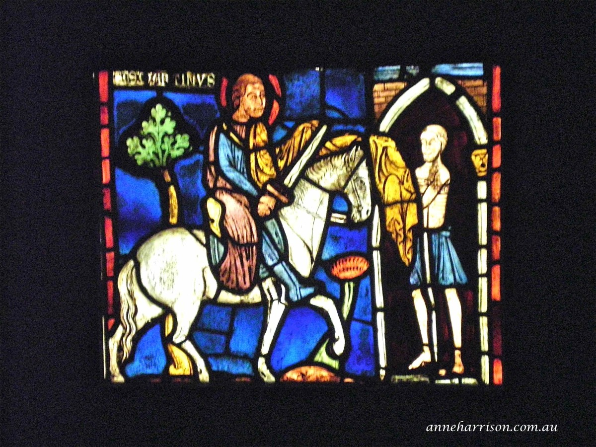 More of the beautiful stained glass on display (c) A. Harrison