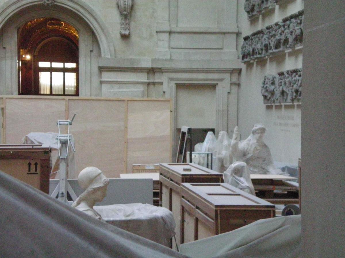 Art restoration is a never ending orocess (c) A. Harrison